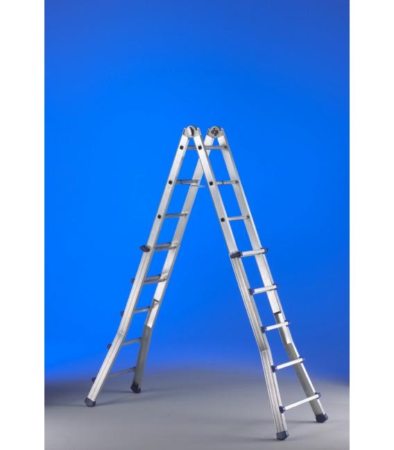 Escalera industrial tijera 6,25mts SVELT EPLUS