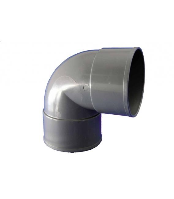 CODO EVAC H-H 87º PVC