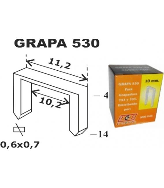 GRAPA MODELO 530 12MM 5.000 PZ