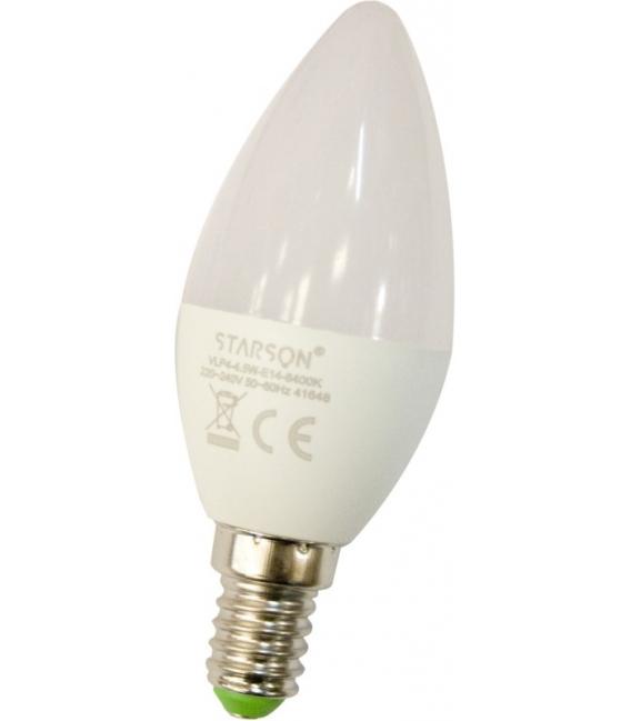 LAMPARA LED VELA E14 4,5W 450LM 6400K