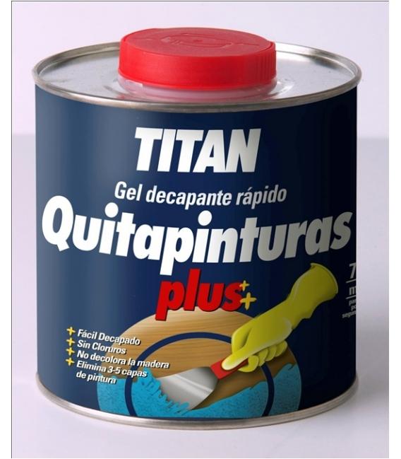 Quitapinturas preparación madera decapante rápido gel. TITAN