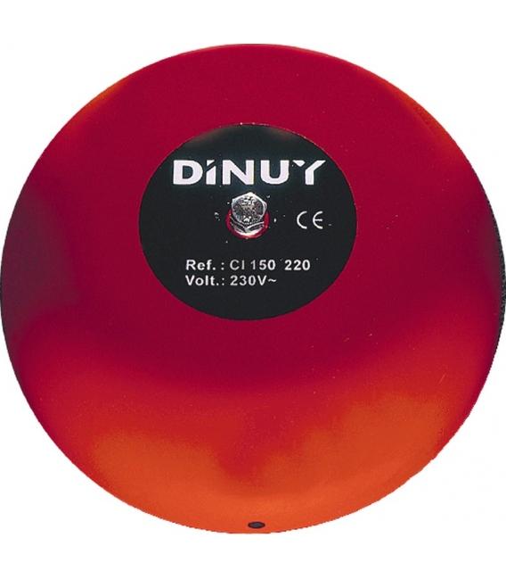 Timbre campana industrial 15cm 220V DINUY