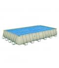 Cobertor solar piscina 687X336CM. BESTWAY