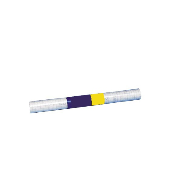 Papel adhesivo transparente mate 45x20mts TEPLAS