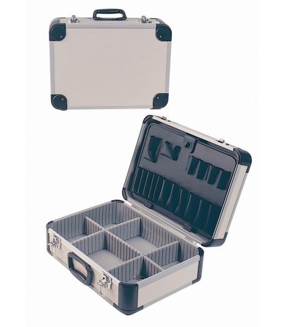Maleta Herramientas 46X33X16Cm Aluminio. CODY