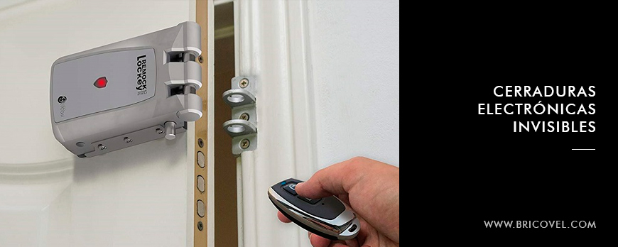 Cerraduras electronicas invisibles