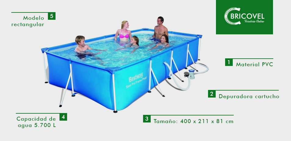 Piscina-BESTWAY-SPLASH-FRAME-POOLS