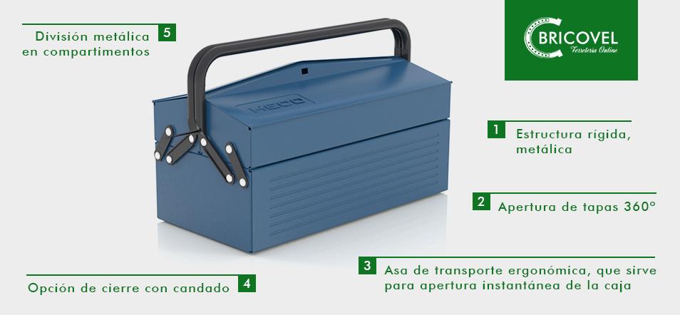 Caja de herramientas HECO 102.7